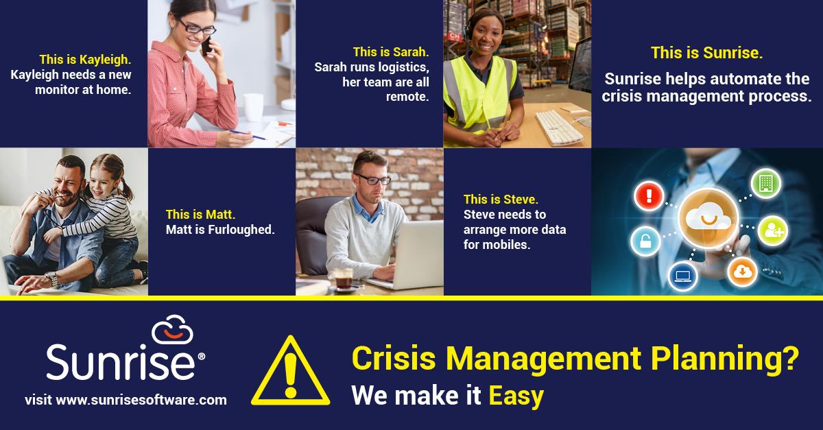 Sunrise Crisis Management Linkedin